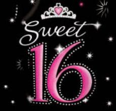 Dj Sweet 16 Sixteen Dj Voor 16 De Verjaardag